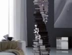 DNA, Portable design bookcase, Cattelan Italia