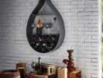Drop, Wall bookcase/wine  , Cattelan Italia