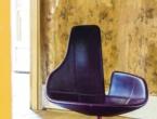 Lounge chair on swivel base, MOROSO