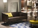KAIWA, SOFAS IN LEATHER, LEMA