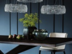 Kidal, chandelier with crystals, Cattelan Italia