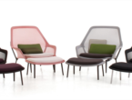 SLOW CHAIR, ARMCHAIR, VITRA, ITALIAN DESIGN