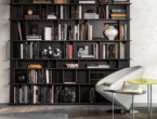 Wally, library, Cattelan