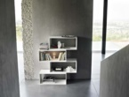 ZIGZAG, BOOKCASE, LIVING ROOM, LEMA